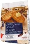 Хлебцы Ашан мягкие для бутербродов без сахара 225г