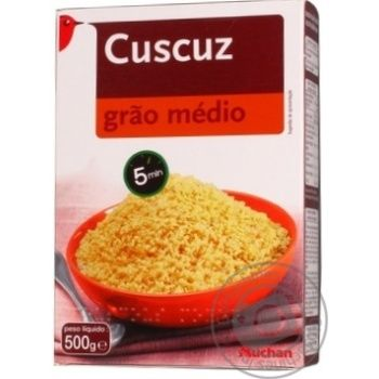 Кускус Auchan середнє зерно 500г - купити, ціни на Ашан - фото 3