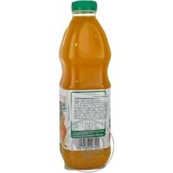 Сок Ашан мандариновый натуральный 1л - купить, цены на Ашан - фото 2