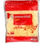 Auchan Emmental Grated Cheese
