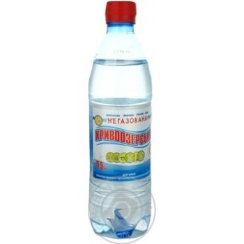 Вода Кривоозерская минеральная столовая негазированная 0,5л - купить, цены на Ашан - фото 1