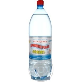 Вода Кривоозерская минеральная столовая негазированная 2л