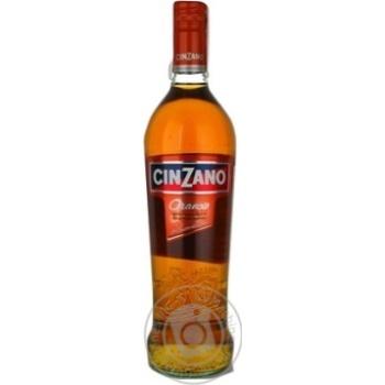 Вермут Chinzano Orancio белый десертный 1л - купить, цены на Novus - фото 1