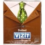 Презервативи Vizit Dotted латексні прозорі з точковим рифленням, накопичувачем і силіконовою змазкою 3шт
