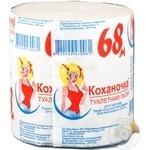 Бумага туалетная Умка - купить, цены на Ашан - фото 2
