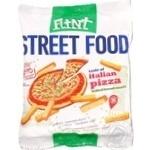 Сухарики Флинт Стрит Фуд Итальянская пицца пшенично-ржаные 80г Украина