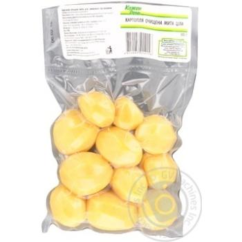 Картофель Каждый день очищенный мытый целый 500г - купить, цены на Ашан - фото 1