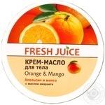 Крем-масло для тела Fresh Juice Orange&Mango 225мл - купить, цены на Метро - фото 1