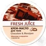 Крем-масло для тела Fresh Juice Chocolate & Мarzipan 225мл - купить, цены на Метро - фото 1