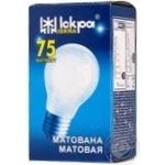Лампа Искра 75Вт А55 Е27 матовая шт
