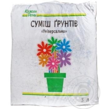 Auchan Universal Soil mixture 3l - buy, prices for Auchan - image 3
