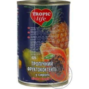 Коктель Tropic Life тропічний 425мл - купити, ціни на Фуршет - фото 2