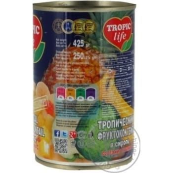 Коктель Tropic Life тропічний 425мл - купити, ціни на Фуршет - фото 3