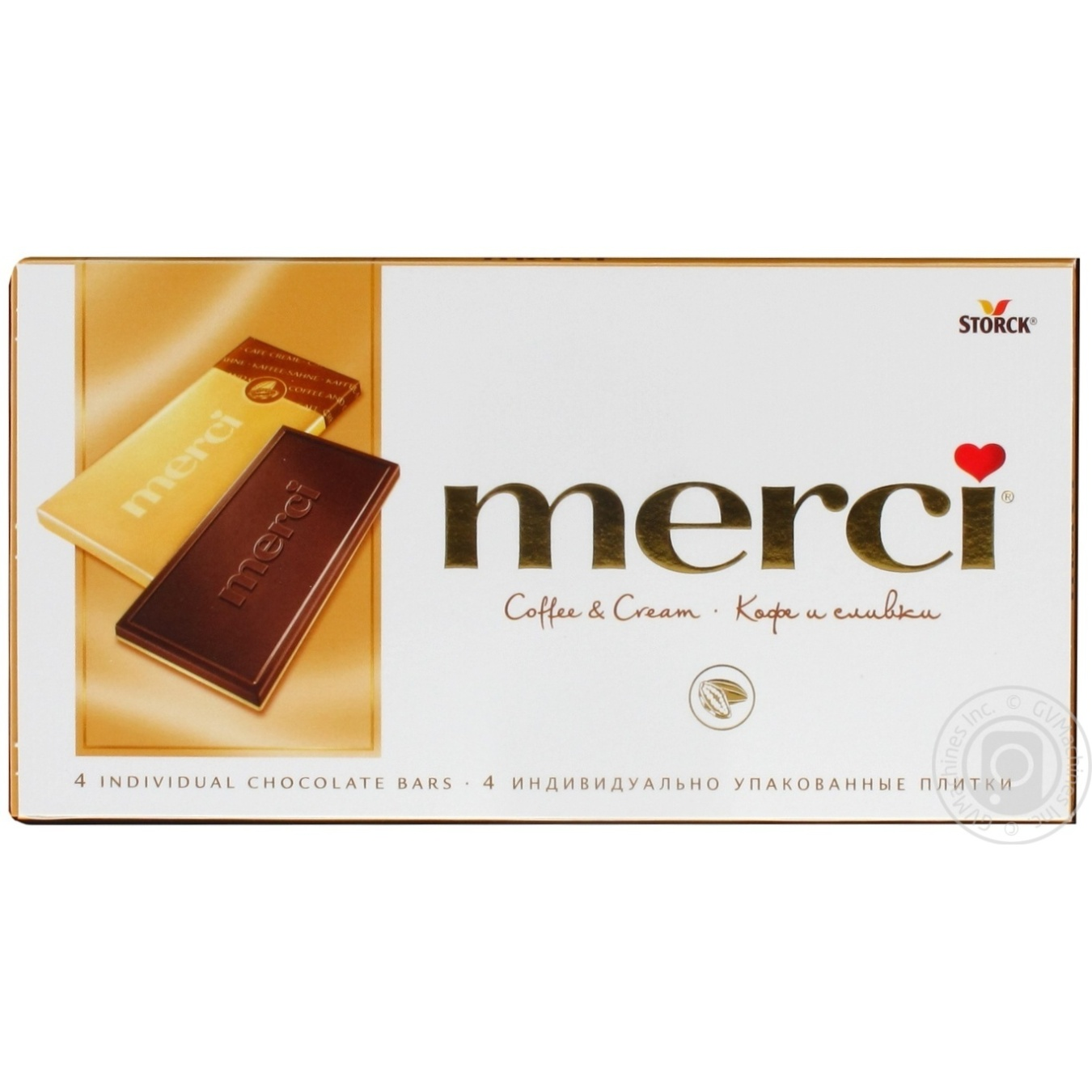 Chocolate milky Merci with coffee 100g → Snacks, Sweets and Chips ...
