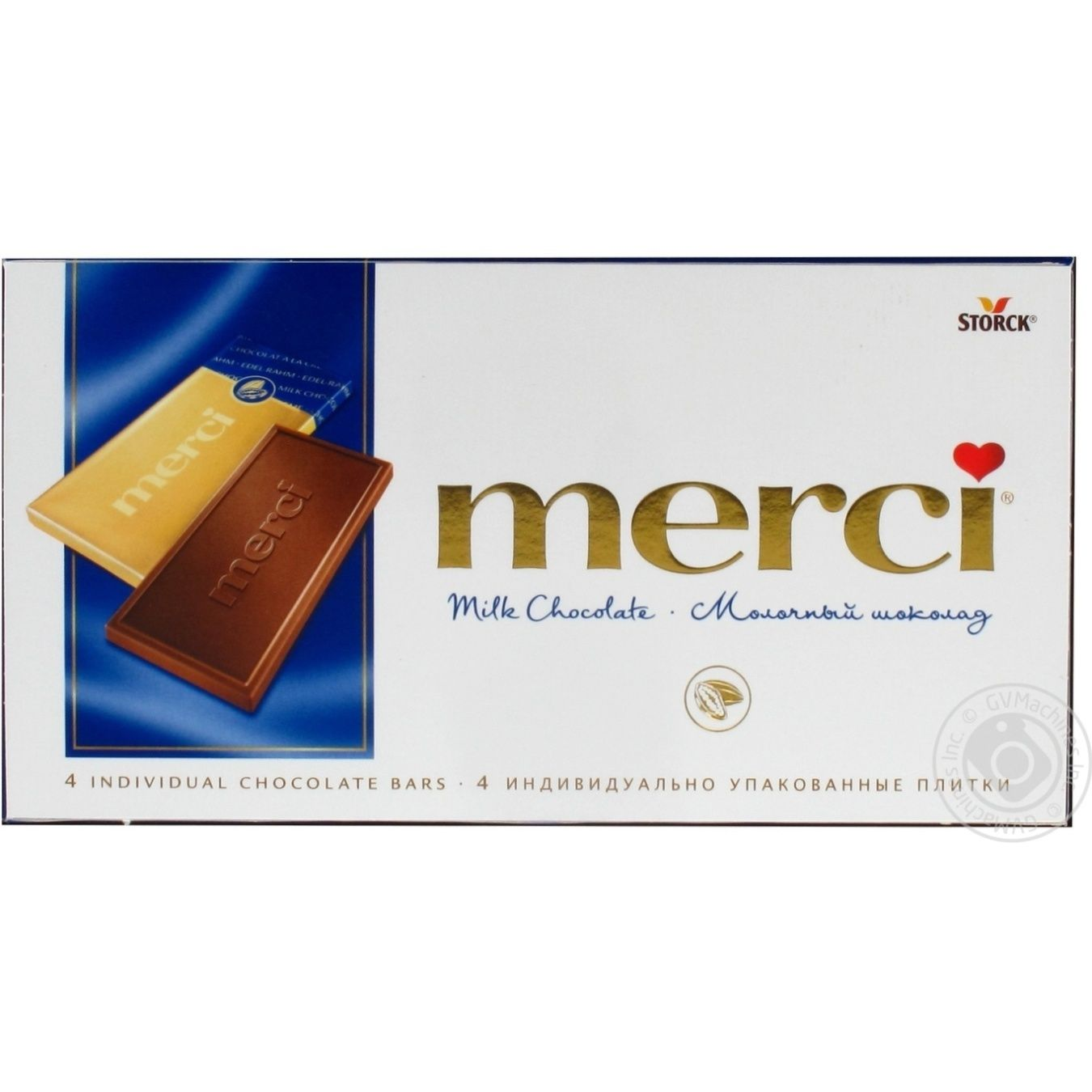 Chocolate milky Merci 100g → Snacks, Sweets and Chips