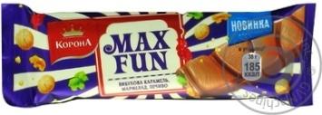Шоколад Корона с мармеладом, печеньем и карамелью 38г