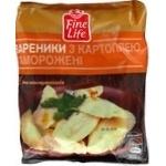 Вареники Fine Life з картоплею заморожені 900г