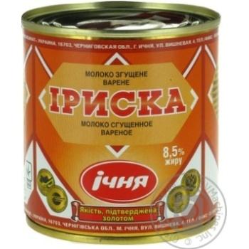 Ichnya Iriska Boiled Evaporated Milk - buy, prices for Furshet - image 5