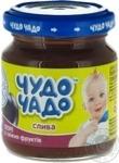 Детское питание для детей с 4-х месяцев Чудо-Чадо Пюре сливовое с сахаром 90г