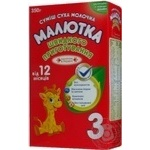 Maliutka for children from 12 month milky dry mix 350g