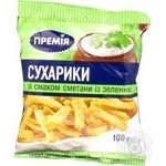 Snack Premiya with taste of sour cream 100g