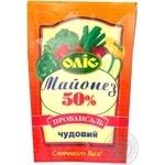 Mayonnaise Olis Chudoviy 50% 185g