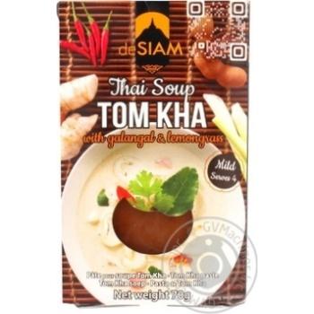 Паста deSiam Том Кха тайская для супа 70г