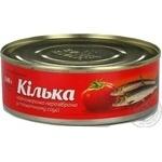Килька черноморская в томатном соусе 240г