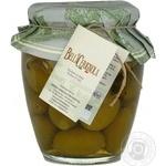 Vegetables olive green canned 580ml glass jar