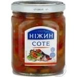 Vegetables Nizhyn canned 450g