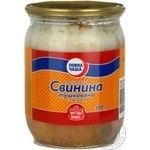 Meat Povna chasha pork canned stewed meat 500g