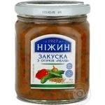Nezhin Relish cucumber appetizer 460g