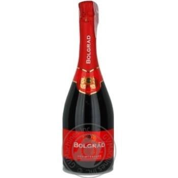 Вино игристое Bolgrad Nectar красное полусладкое 10% 0,75л