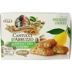 Печиво з нарізаними ядрами горіха фісташки та цукатами цитрону CantucciFalcone