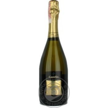 Игристое шампанское белое сухое 11% 750мл стеклянная бутылка