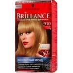 Фарба для волосся Brillance 910 Ангельський Блонд