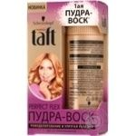 Пудра-воск для волос Taft Perfect Flex 10г