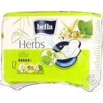Прокладки Bella herbs tilia 12шт