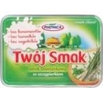 Сыр Piatnica TwojSmak слив с зелен лук 64% кор/мол 135г