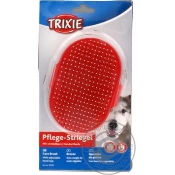 Щетка Trixie для терьера с шариками 7х12см - купить, цены на СитиМаркет - фото 1