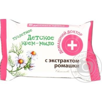 Крем-мыло Домашний Доктор детское с экстрактом ромашки 70г - купить, цены на ЕКО Маркет - фото 2