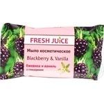 Мыло косметическое Fresh Juice Blackberry&Vanilla 75г