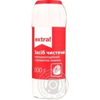 Средство чистящее Extra! с ароматом лимона 500г