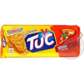 Крекер Tuc солоний зі смаком піци 100г