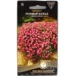 Насіння Golden Garden Квіти Обрієта Рожевий каскад 0,1г