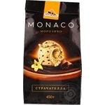 Морозиво Страчателла Monaco Три Ведмеді пакет 0,45кг