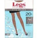 Колготки женские Legs Vita Bassa 20 amber р.1-2 шт