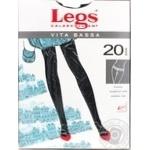 Колготки женские Legs Vita Bassa 20 nero р.1-2 шт