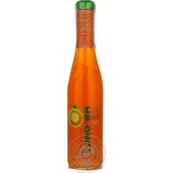 Non-carbonated low-alcohol drink with natural juice Longmixer Mango glass bottle 7%alc. 330ml Ukraine