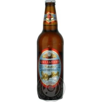 Пиво Хмельпиво Жигулівське світле 4,2% 0,5л - купити, ціни на Novus - фото 2